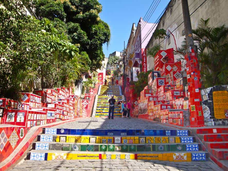 Escalera de Selarón, Río de Janeiro, Brasil