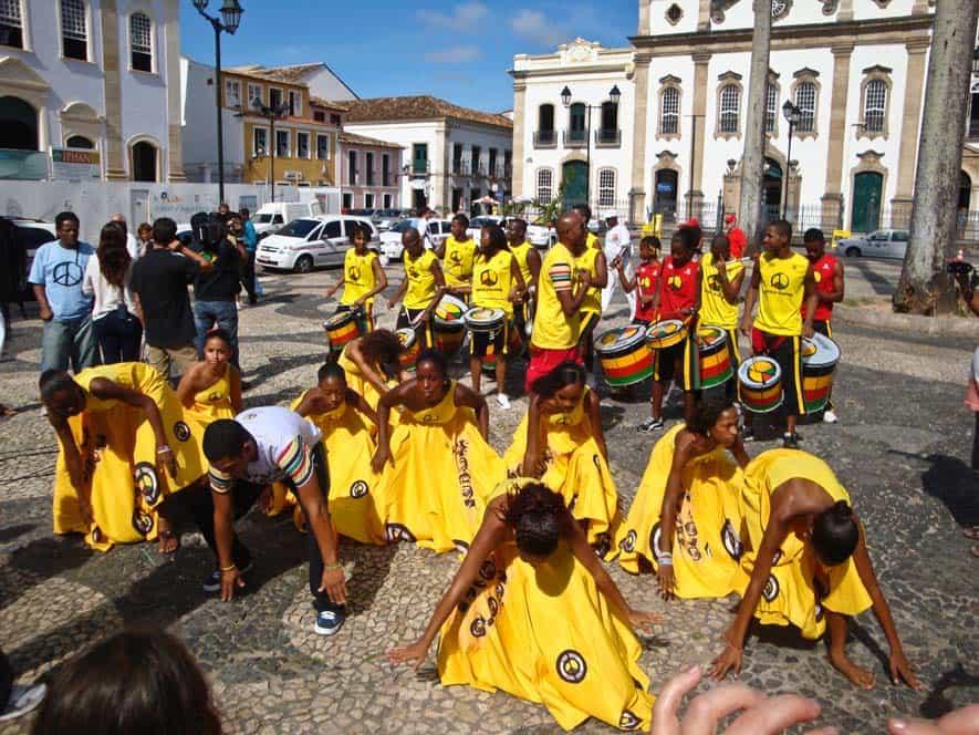 Baile tradicional, Salvador de Bahía, Brasil