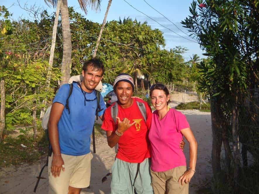 Con el guía, Lençois Maranhenses, Brasil