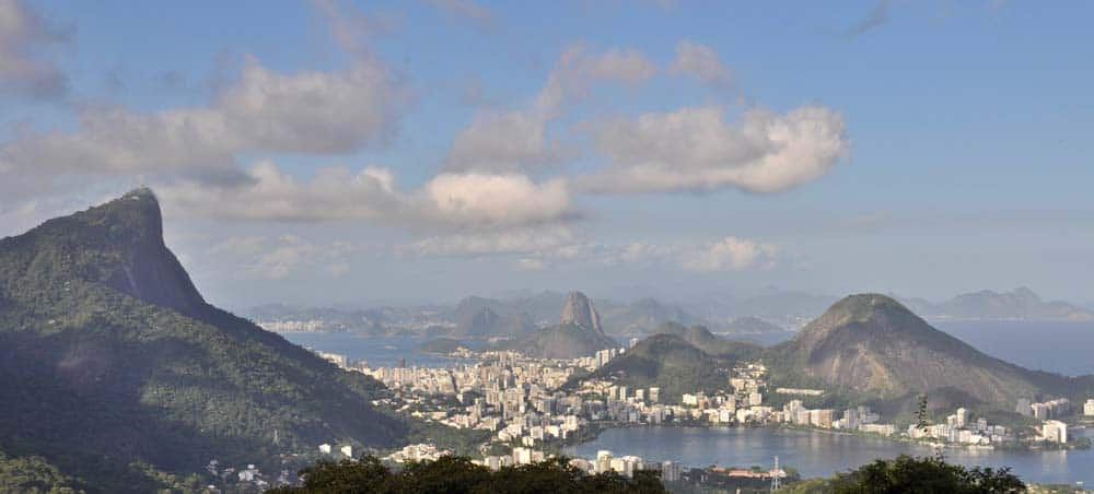 Rio de Janeiro Panoramic View