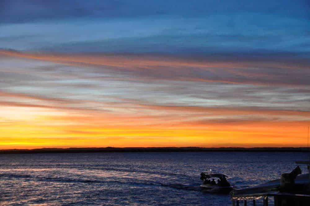 Sunset in Morro