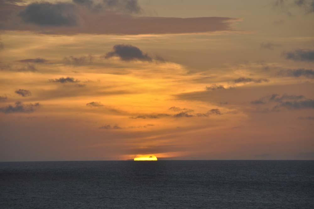 puesta del sol, Jericoacoara, Brasil