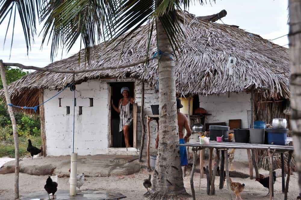 Casa en Oasis, Lencois Maranhenses, Brasil