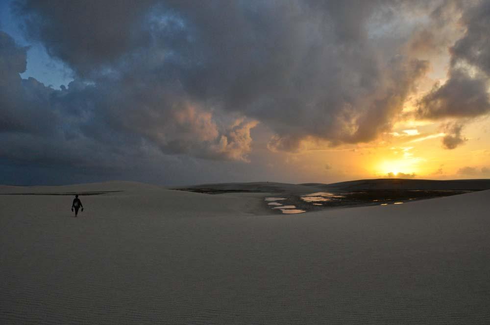 Színek a napfelkelte után, Lençois Maranheses Nemzeti Park
