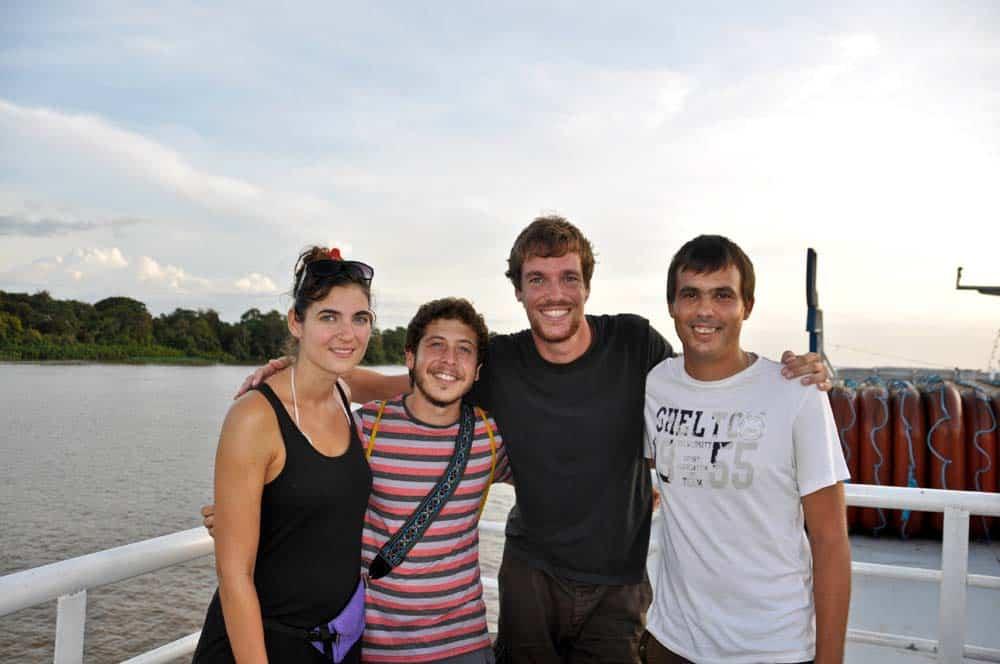 Barátokkal Amazonas-folyón