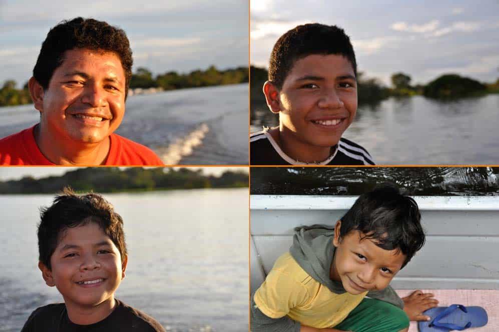 Familia amazzonica