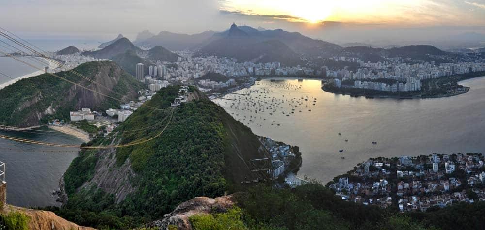 Vista panorámica, Río de Janeiro, Brasil