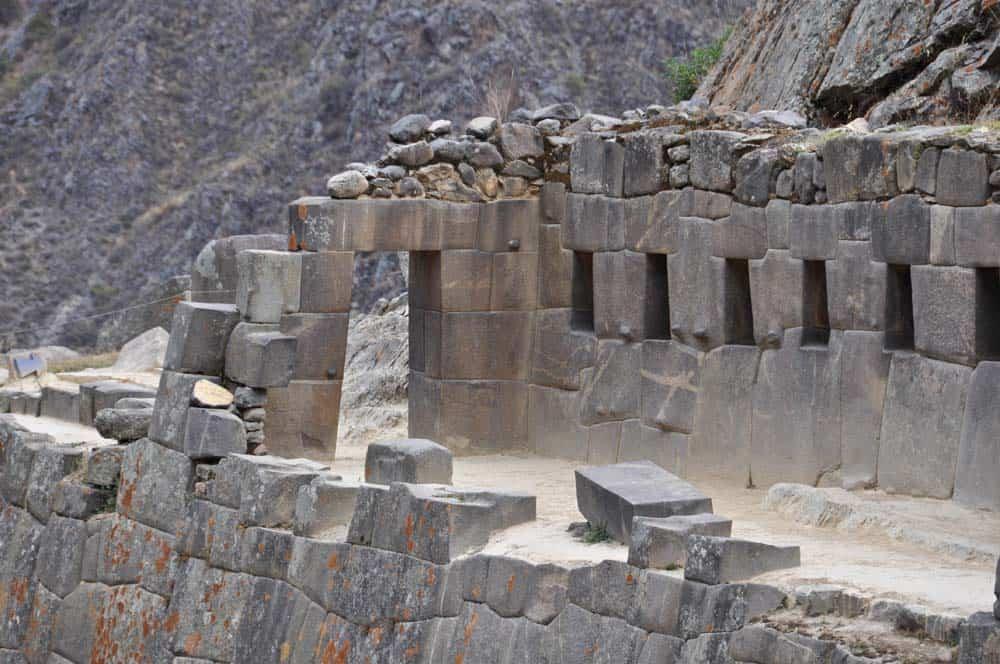 Fortaleza de Ollantaytambo, Valle Sagrado, Perú