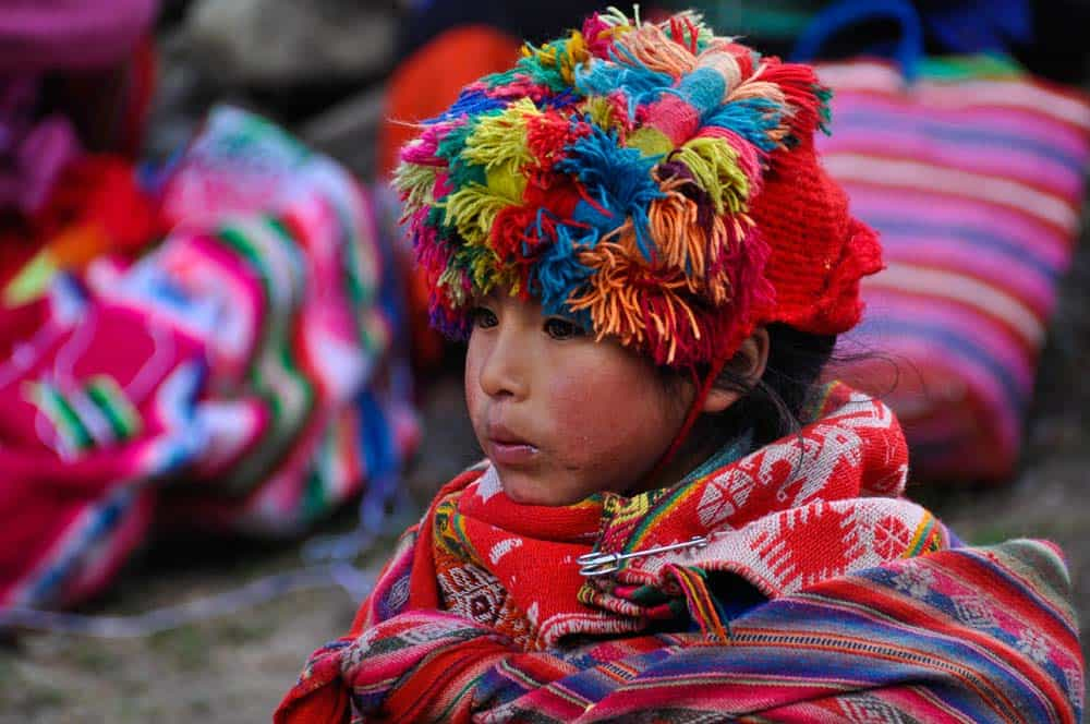 Kecsua lány Huillocban