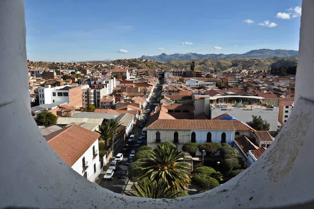 View from the Convento San Felipe Neri