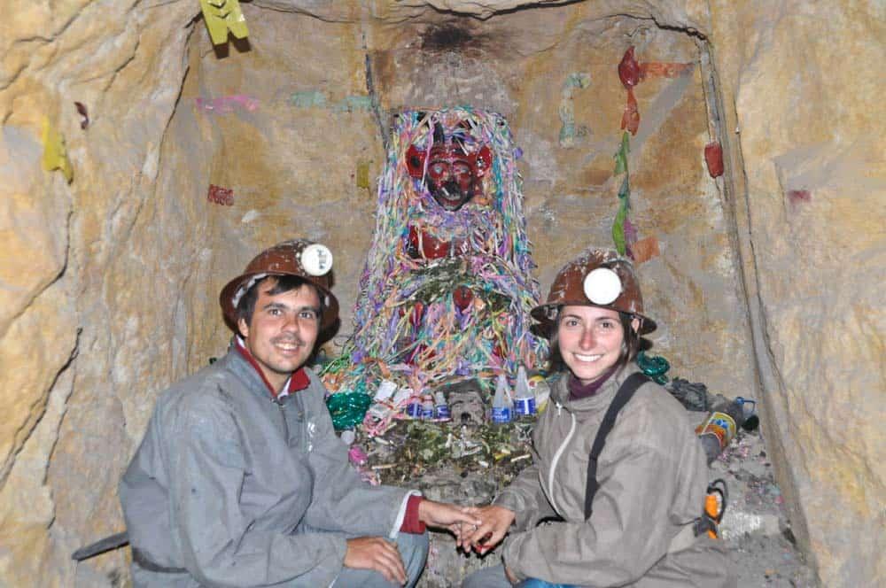 Tío de la minas, Potosí, Bolivia