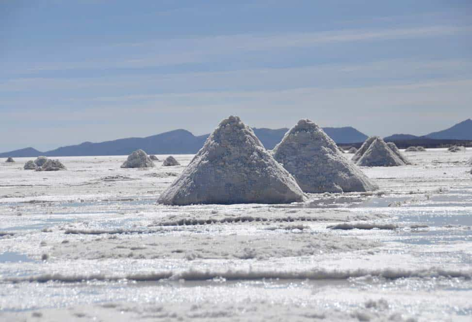 montagnole di sale