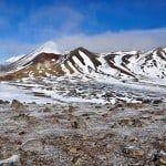 Un día fenomenal en Mordor - El Tongariro Alpine Crossing en invierno
