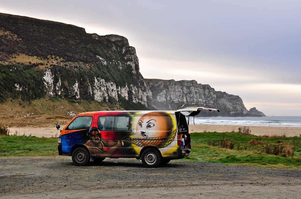 Alba in spiaggia | Viaggio in Nuova Zelanda