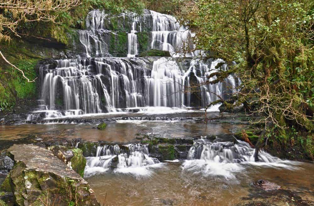 Cascate Purakaunui Falls, nei Catlins | Viaggio in Nuova Zelanda