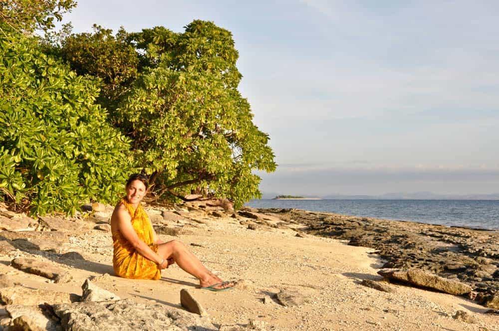 Tramonto nell'isola di Bounty | Viaggiare alle Figi