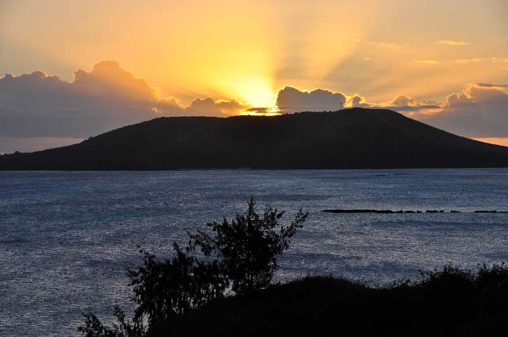 Tramonto nell'isola di Nacula | Viaggiare alle Figi