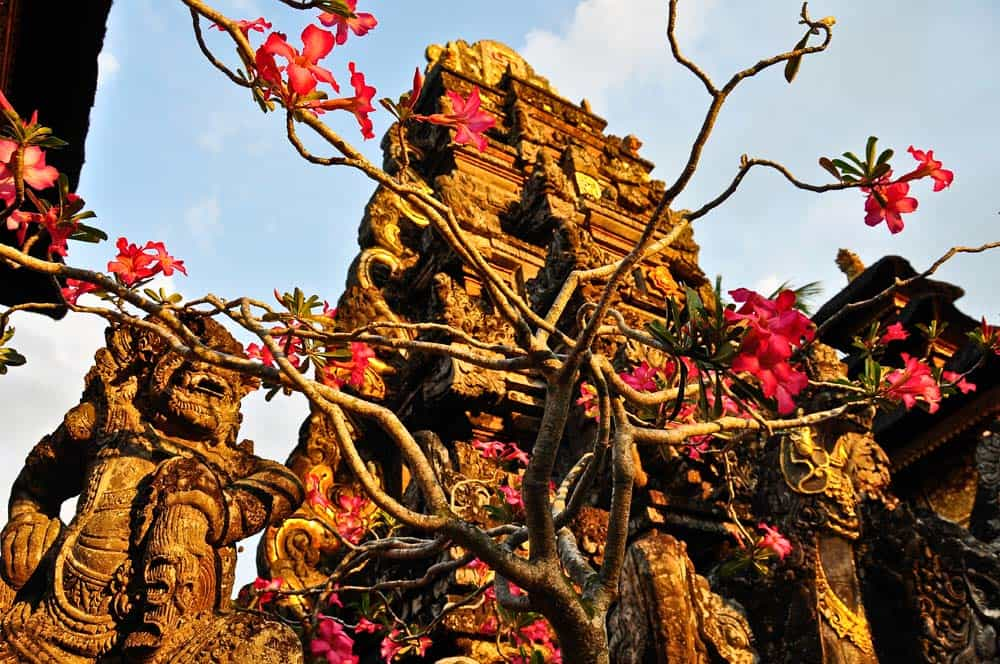 Tempio Pura Taman Saraswati a Ubud, Bali | Viaggio Indonesia