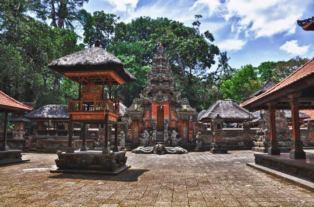 Templo de los Monos, Bali, Indonesia