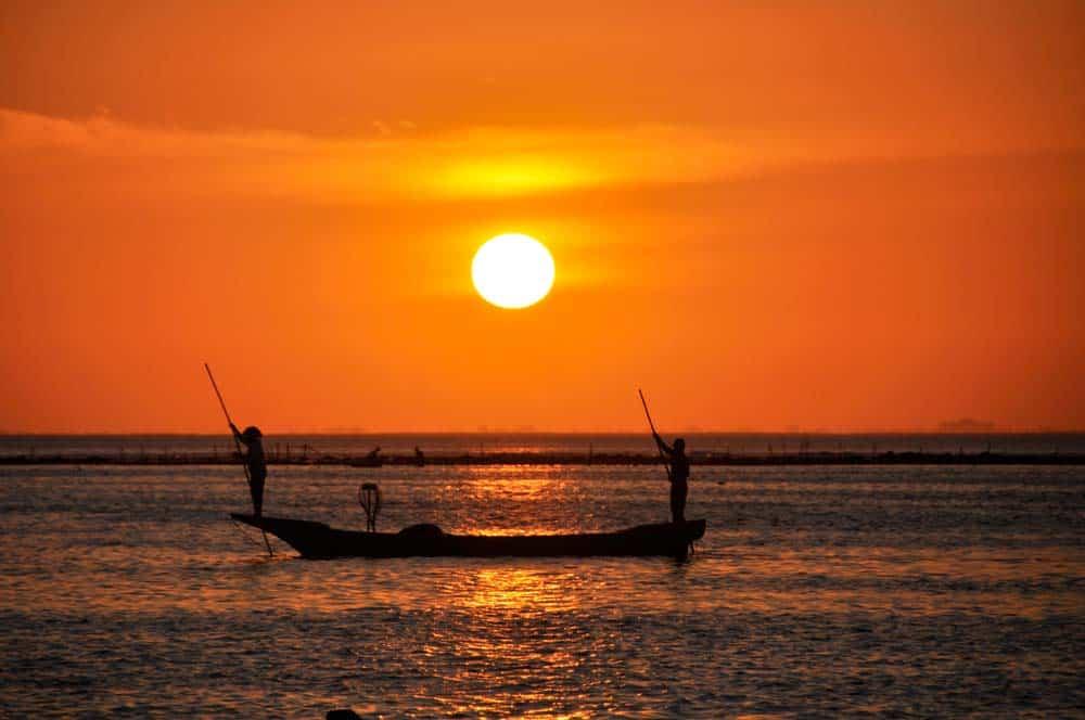 Puesta de sol en Nusa Lembongan, Bali | Viajar a Indonesia