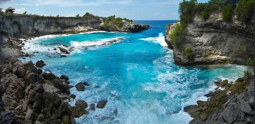 Secret Beach isola Lembongan Bali | Viaggio Indonesia