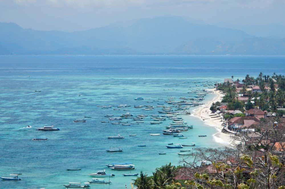 Porto sull'isola di Lembongan Bali | Viaggio Indonesia
