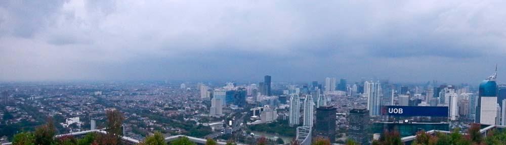 Qué hacer en Java | Vista desde el rascacielo, Jakarta, Indonesia
