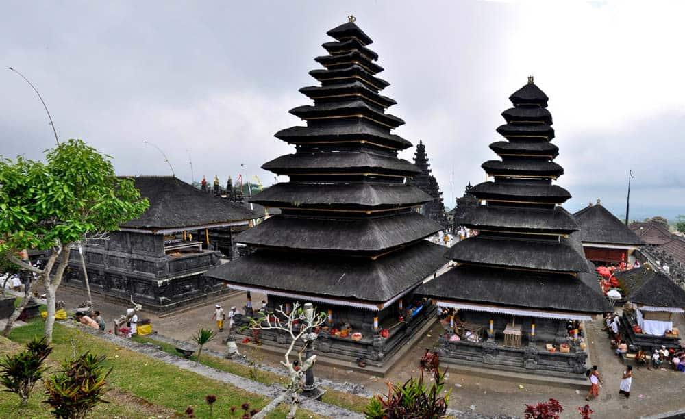 Templo Pura Besakih, Bali, Indonesia
