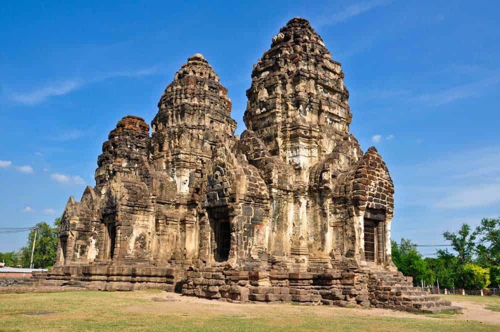 Templo de los monos, Prang Sam Yot, Lopburi, Tailandia