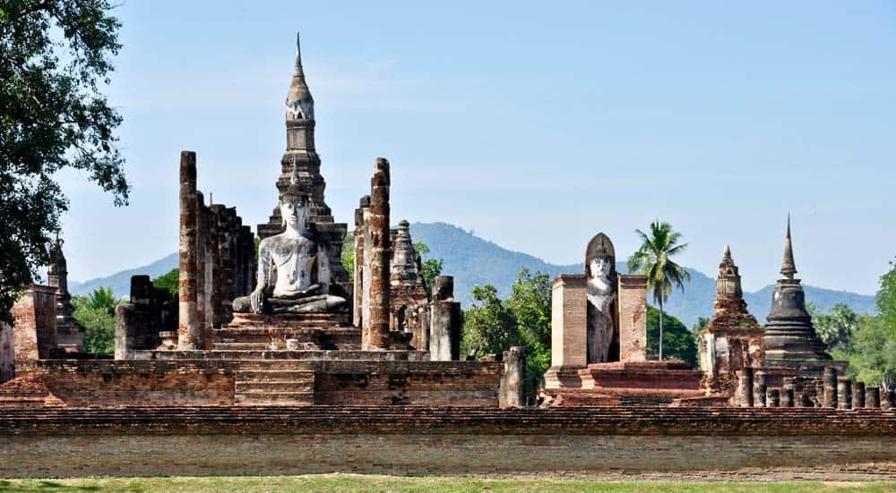 El parque histórico de Sukhothai | Lugares turísticos de Tailandia