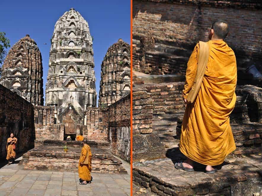 Wat Si Sawai, parque historico de sukhothai, Tailandia