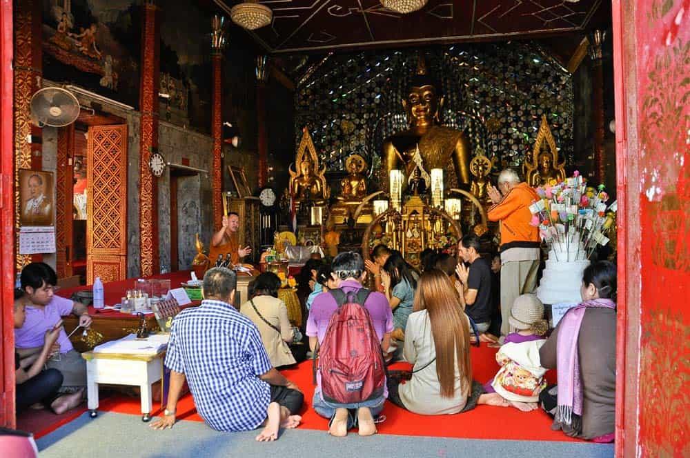 templo Doi Suthep alrededor de Chiang Mai