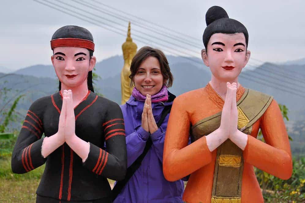 Pregando in Laos