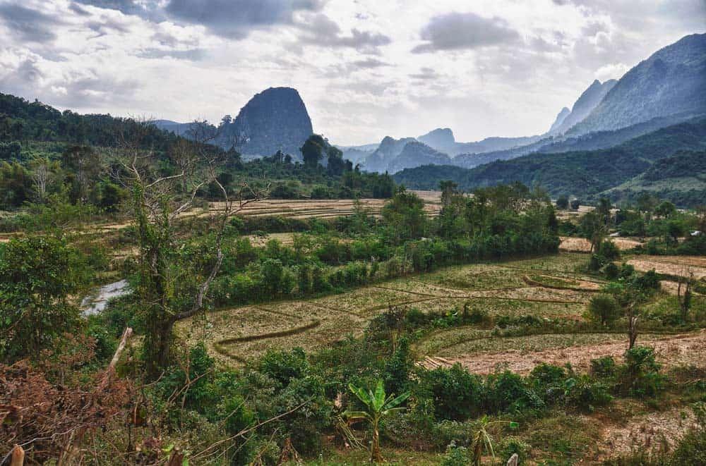 Nei dintorni di Muang Ngoi in Laos