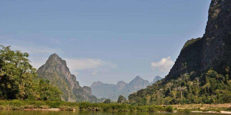 Río Nam Ou desde Nong Khiaw a Luang Prabang por el Mekong