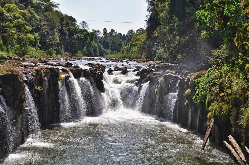 cascata Tad Phasuam, Bolaven Plateau Laos