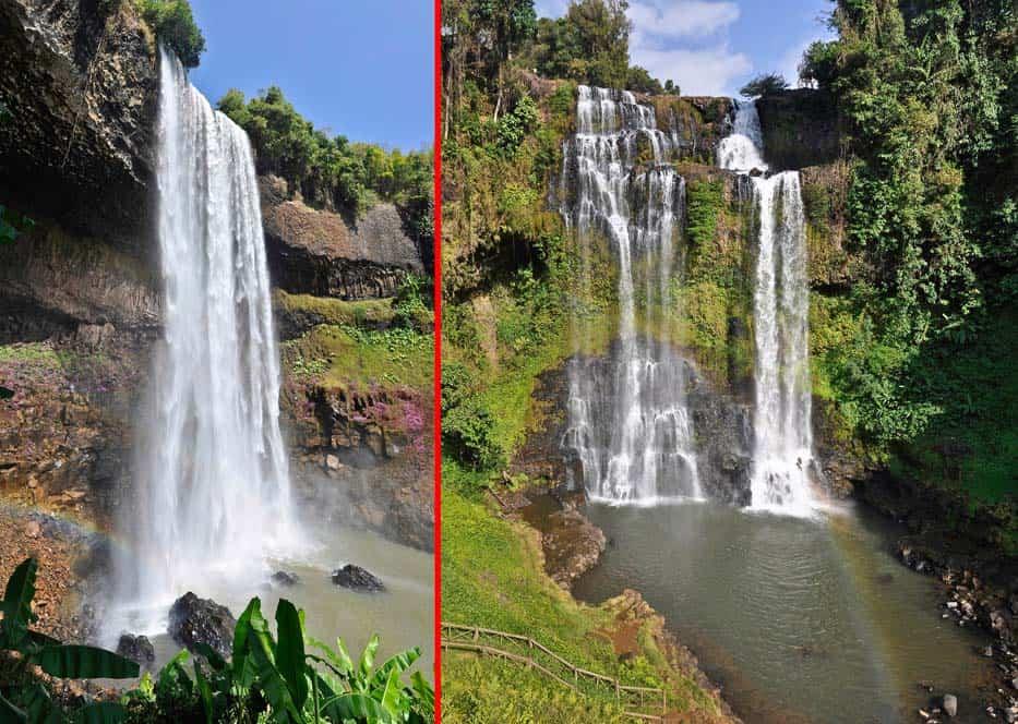 Tad Yuang - Tad Alang cascate Laos