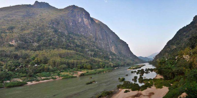 Nong Khiaw paesaggio