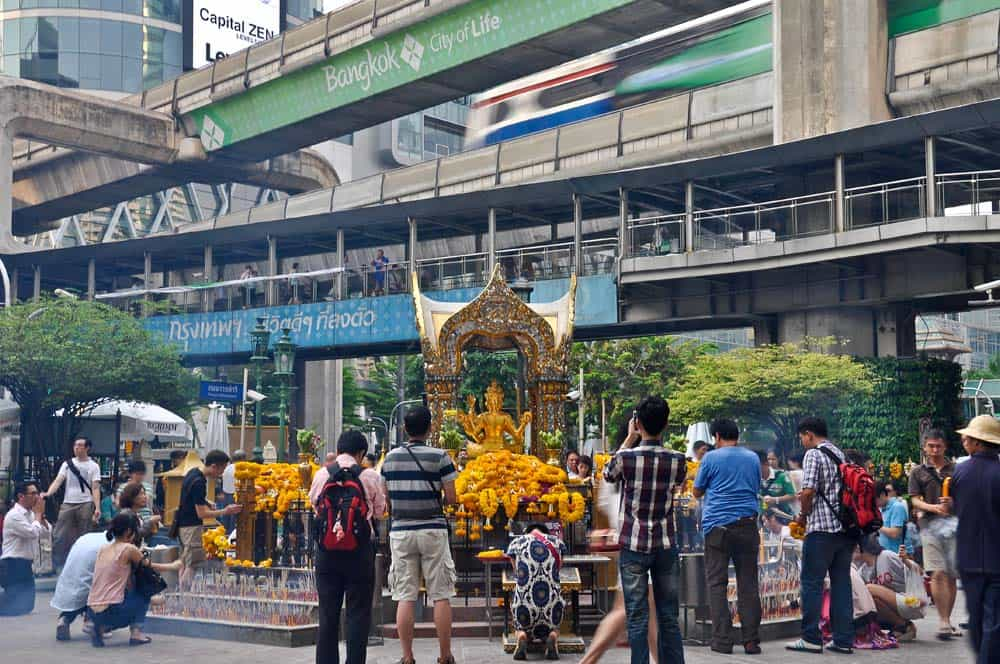 Erawan Shrine en Bangkok