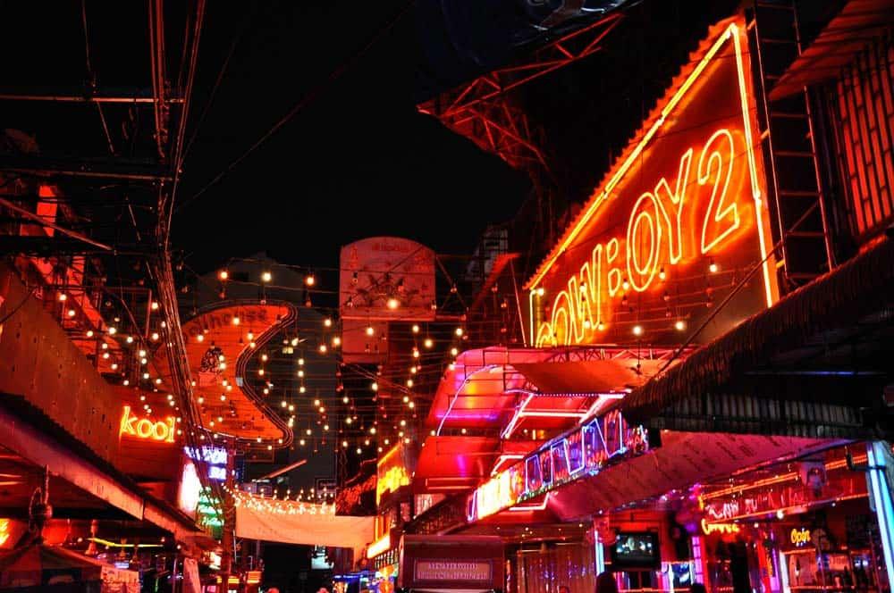 Soi Cowboy, Bangkok, Tailandia