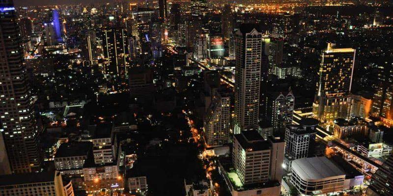 Bangkok Skyline de noche