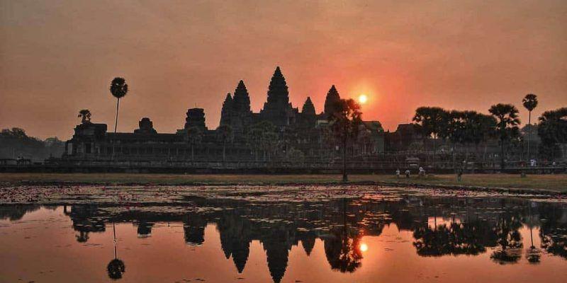 Templos de Angkor Wat - Amanecer en Angkor