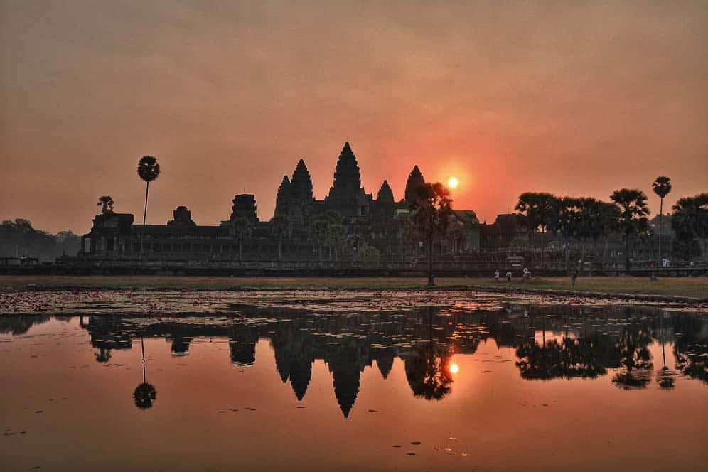 Amanecer, Templo Principal, Angkor Wat, Camboya