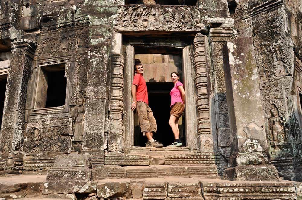 Templo de Bayón, Angkor Wat, Camboya