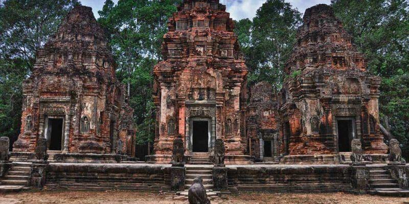 Templos de Roluos en Siem Reap