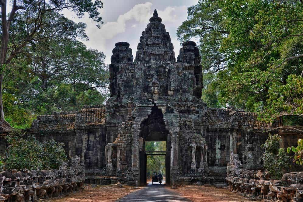Puerta de la victoria, Angkor Wat, Camboya