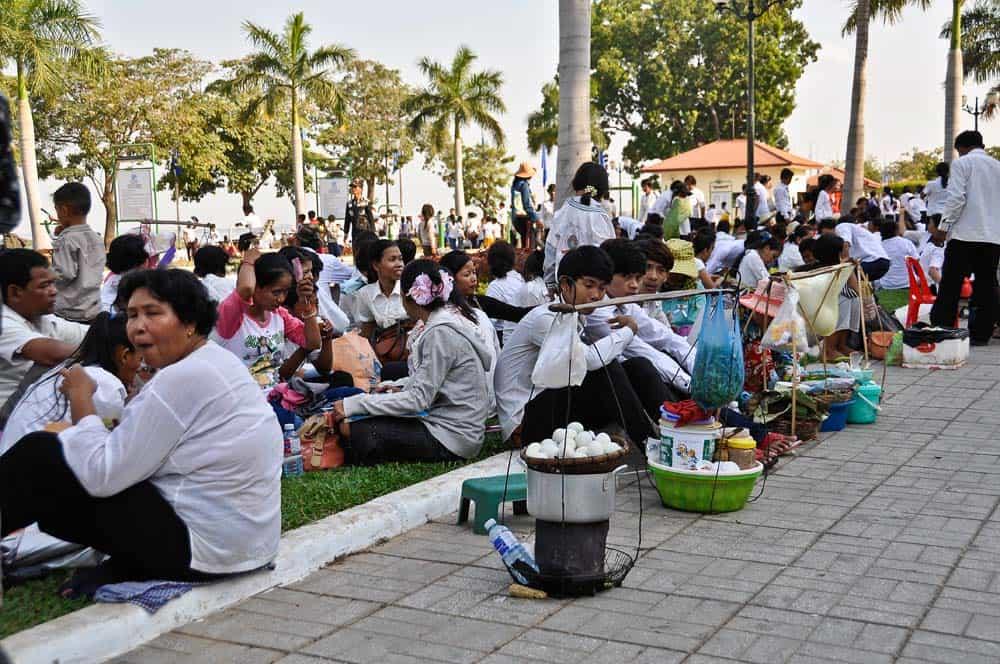 Funeral del rei de Camboya - Que ver en Phnom Penh