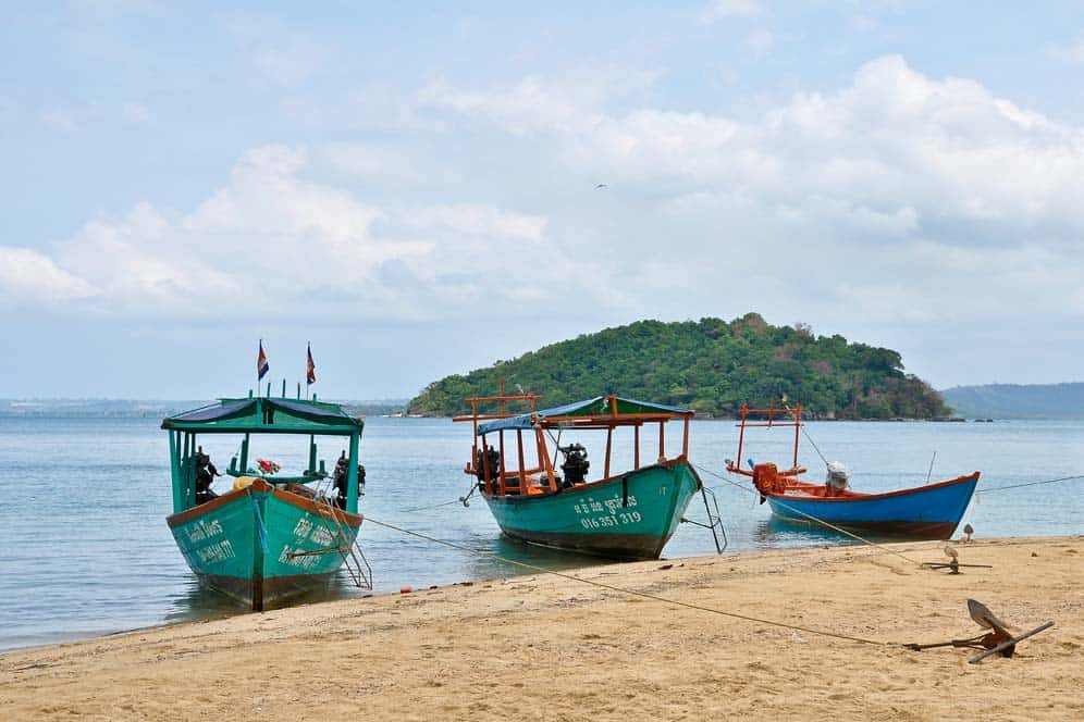Playas de Camboya - La isla de Koh Ta Kiev | Viajar a Camboya
