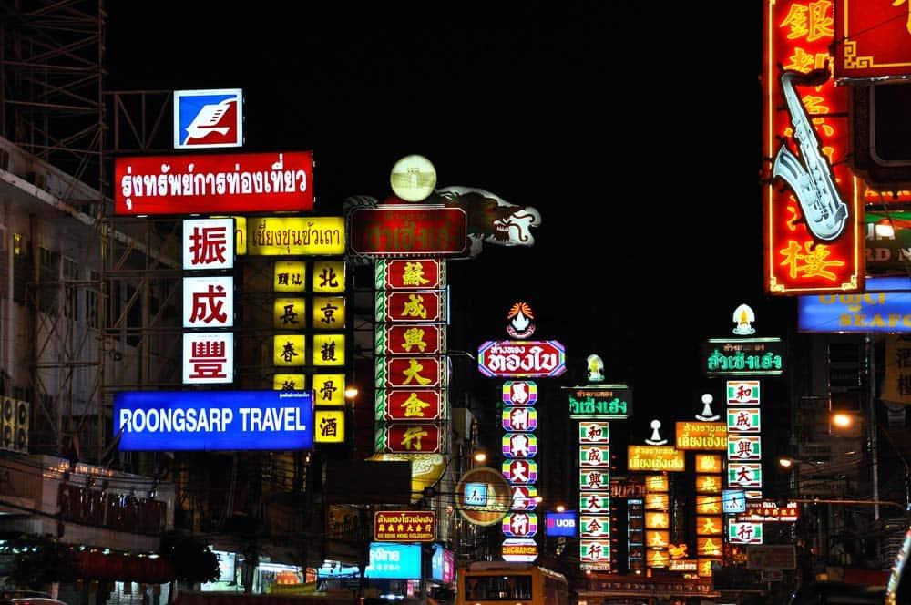 Chinatown, Bangkok, Tailandia