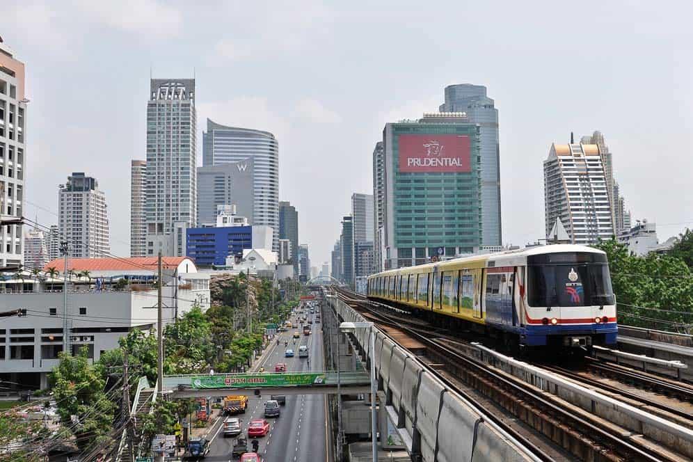 Skytrain, Bangkok, Tailandia